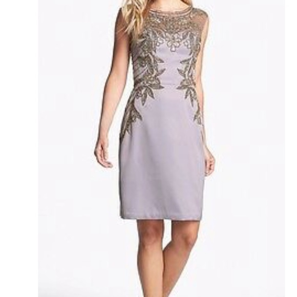 Sue Wong Dresses & Skirts - Sue Wong silver sequins dress